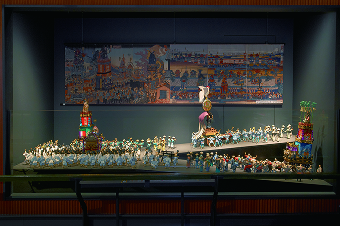 E6 _ Edo's Four Seasons and Its Entertainment Districts _ Kanda Myōjin Festival Procession