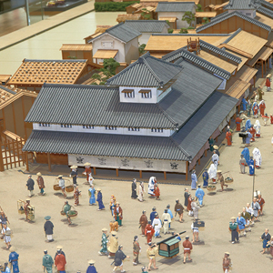 E1_ Edo Castle and the District Zones _ The Townspeople's District around Nihonbashi